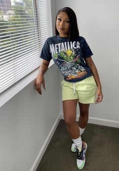 Swag Outfits For Girls, Cute Lazy Outfits, Cute Swag Outfits, Tomboy Outfits, Chill Outfits, Tomboy Fashion, Teen Fashion Outfits, Dope Outfits, Retro Outfits
