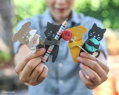 Animais para lembrancinha infantil podem ser usados em vários temas de festinhas para crianças (Foto: liagriffith.com)