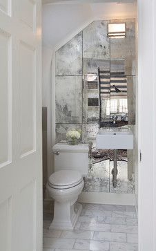 CLASSICISM REFRESHED - Transitional - Powder Room - Other Metro - TY LARKINS INTERIORS