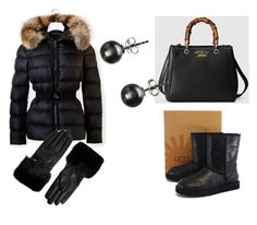 """""""www.fashionyouknow.se"""" by sofie-wester on Polyvore featuring Moncler, UGG Australia, Gucci and Ted Baker"""