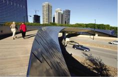 Millennium Park - BP Pedestrian Bridge