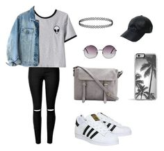 """""""Untitled #29"""" by excellencial on Polyvore featuring Chicnova Fashion, adidas, Calvin Klein, Vianel, Monki and Zero Gravity"""