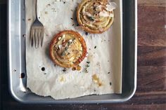 savory apple tarts | seven spoons
