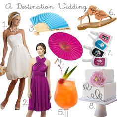 Three Little Búhos: destination wedding mood board