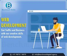 Benchmark Media is a professional web development agency, which is committed to offering ... Our comprehensive website development services include. #digitalmarketingagency #digitalmarketing #SEO #SMM #SMO #onlinemarketing #smallbusiness #onlinebusiness #ecommercebusiness #EmailMarketing #SMOServices #businessleads #FacebookAdvertising #brand #digitalservices #Digitalmarketingservices E Commerce Business, Online Business, Digital Marketing Services, Email Marketing, Web Development Agency, Media Web, Creative Skills, S Mo, Website
