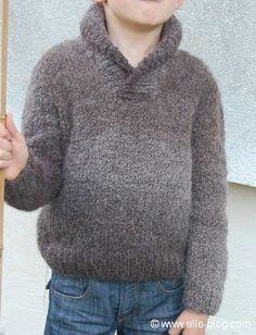 modele tricot gratuit pull garcon