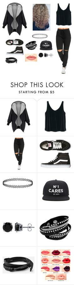 """""""Untitled #16"""" by gissellebeltre on Polyvore featuring MANGO, Vans, Forever 21, BERRICLE, NYX, women's clothing, women's fashion, women, female and woman"""