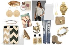 """""""Casual Fun Day"""" by katymcdonald on Polyvore"""