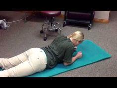 Shoulder: scapular stabilization - YouTube