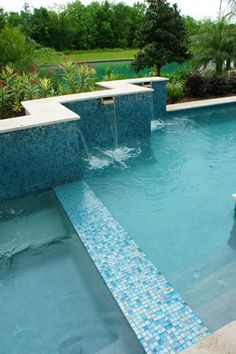 design your dream pool with glass tile today at httpswwwaquablumosaics. Interior Design Ideas. Home Design Ideas