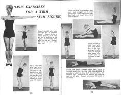 Waistline exercises from Joe Bonomo's Beautify Your Figure (1953)