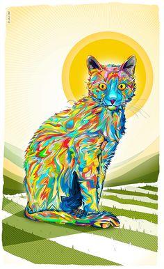 art, beautiful, colorful, creative, design, drawing, Illustration, Inspiration, vector, Matei Apostolescu