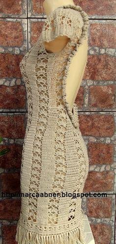 Marcinha crochê: vestidos de crochê