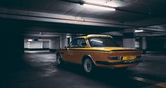 A gold rush of adrenalin with the BMW 3.0 CSL   Classic Driver Magazine