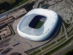 25 Incredible Aerial Photos of Stadiums Around the World «TwistedSifter