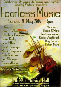 FEARLESS MUSIC Collectable Poster