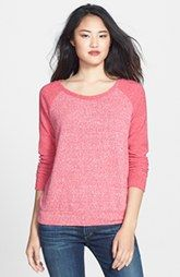Caslon® Colorblock Raglan Sleeve Knit Top (Regular & Petite) available at Personal Stylist, Slow Fashion, Color Blocking, Nordstrom, Pullover, T Shirts For Women, Tees, My Style, Sporty