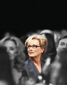 SAG Awards ~ 2012. The uncomparable Meryl Streep