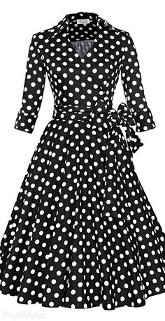Vintage 50s 60s Rockabilly Swing Dress