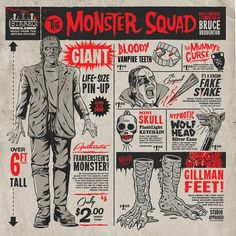 The Monster Squad - Original Motion Picture Soundtrack // Gary Pullin