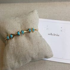 I just added this to my closet on Poshmark: Turquoise Stone Cuff. Price: $32 Size: Fits SM -LG Wrists
