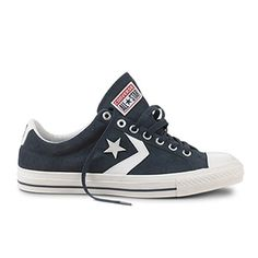 Like these ! Converse    Sneaker Star Player en cuir Suede - Marine/Blanc [Semaine du 17 Aout