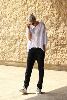 BAGGY ANDROGYNY - Connected to Fashion | creatorsofdesire.com