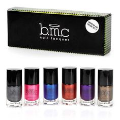 Nicole diary 12 box colorful shiny round ultrathin sequins nail bmc 6pc metallic color nail stamping lacquers creative art polish collection set 3 prinsesfo Choice Image
