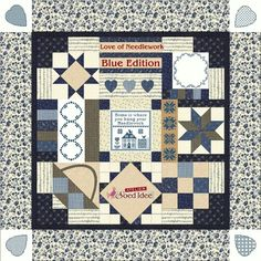 Love of Needlework BOM Blue edition