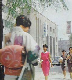 昭和37年 大阪 船場 (住友銀行広告写真)