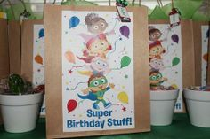 Super WHY Decorations | Super Why / Birthday / Party Favors: Favors!