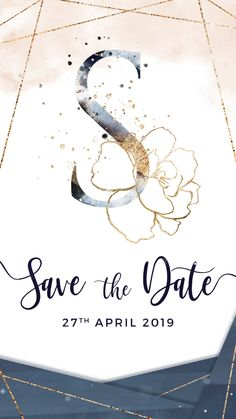 Electronic Wedding Invitations, Electronic Invitations Looking for a unique Save the date Ideas? This Blush and Navy Electronic Save the Date & Wedding Invitation video is the. Electronic Wedding Invitations, Wedding Invitation Video, Blush Wedding Invitations, Save The Date Invitations, Digital Invitations, Wedding Invitation Design, Invitations Online, Invitation Envelopes, Free Wedding Invitation Templates