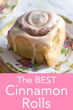 These pillowy soft and luscious cinnamon rolls from Preppy Kitchen are topped with a perfect cream cheese glaze, are the ultimate morning treat, and so easy to make! cheese desserts for cream cheese for two cream cheese Skillet Cinnamon Rolls, Vegan Cinnamon Rolls, Cinnamon Roll Glaze Recipe Easy, Easy Homemade Cinnamon Rolls, Cinnamon Roll Icing, Cinnabon Cinnamon Rolls, Cinnamon Roll Muffins, Easy Desserts, Desert Recipes