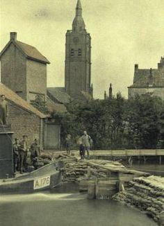 WWI,  Sept 1917, Yser, Belgium