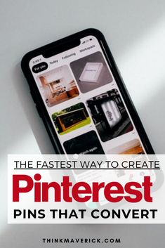Learn how to create designer-quality pins (fast and easy), streamline and schedule your Pinterest with minimal effort. Creating and uploading new pins on a daily basis can be very time-consuming. Use Tailwind Create to create multiple Pinterest Pins without having to hire professional designer or spending hours designing your own graphics. Give Tailwind a spin, take back your time, and start creating beautiful Pinterest Pins today! #pinterest #pinterestmarketing #socialmedia