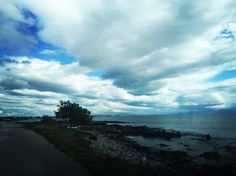 Morning walk by the sea #sky #greece #attica #sea #walk #life #memories #photooftheday by ideastudios