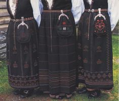 FolkCostume&Embroidery: Overview of Norwegian Costumes part the West Folk Costume, Costumes, Norway, Embroidery, Search, People, Beauty, Fashion, Needlework