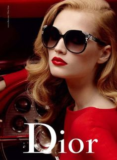 Toni Garrn for Dior Eyewear Fall Winter 2009 Collection Summer Sunglasses, Sunglasses Outlet, Ray Ban Sunglasses, Gucci Sunglasses, Stylish Sunglasses, Baseball Sunglasses, Sunglasses Store, Trending Sunglasses, Kids Sunglasses