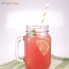 Watermelon Lime Agua Fresca by Carla Hall! #TheChew