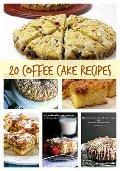 20 Coffee Cake recipes