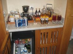 Iberostar Grand Hotel Paraiso: Stocked Mini Bar All Inclusive Resorts, Grand Hotel, Riviera Maya, Liquor Cabinet, Trip Advisor, Destination Wedding, Mexico, Bar, Mini