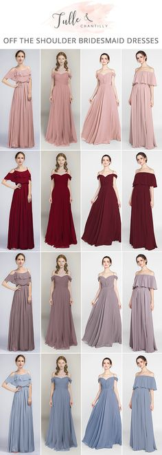 Bridesmaid Gowns off the shoulder bridesmaid dresses for 2018 trends - Shop for latest affordable bridesmaid dresses include all styles Trendy Dresses, Nice Dresses, Short Dresses, Fashion Dresses, Formal Dresses, Pastel Dress Formal, Pastel Dresses, Wedding Bridesmaid Dresses, Best Wedding Dresses