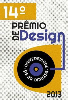 14º Prêmio de Design by Julia Guedes, via Behance