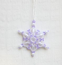 Lavender Snowflake Wedding Favor Wedding by TheCrystalSnowflake