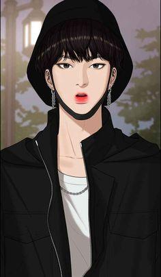 Webtoon The Secret Of Angel Beauty Art, True Beauty, Anime Korea, Ideal Boyfriend, Estilo Grunge, Webtoon Comics, Kdrama Actors, Handsome Anime, Vintage Comics