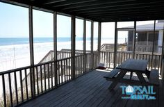 4 'n 1 - screened porch swing and picnic area