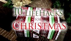 Video: 10 Life Hacks You Need To Know For Christmas - Some great tips, tricks, or ideas with many items around the house. Snack Pack Gift Wrap, Wrapping Paper Keeper, and more. Christmas Hacks, Christmas Crafts, Christmas Decorations, Holiday Decor, Simple Life Hacks, Useful Life Hacks, Making Life Easier, Need To Know, Helpful Hints