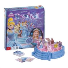 Cinderella Royal Ball Game by sensationaldecorandmore Hobbies For Men, Hobbies That Make Money, Cheap Hobbies, Hobby Kids Games, Walt Disney Parks, Jenga Game, Disney Princess Cinderella, Best Kids Toys, Disney Toys