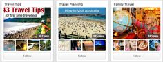 10 #Travel #Pinterest Boards for Holiday Daydreaming