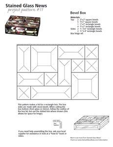 Free SGN Beveled Box Pattern